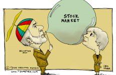 Markten gestegen