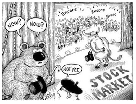 Deze afbeelding heeft een leeg alt-attribuut; de bestandsnaam is cartoon-bullmarket.png